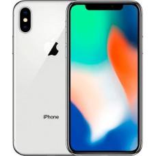 Apple iPhone X 64GB Silver Seller Refurbished