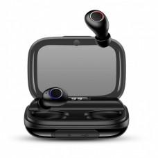Беспроводные Bluetooth наушники Usams YJ Series Digital Display TWS Black