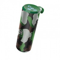Портативная колонка Hoco BS33 Voice sports Camouflage Green